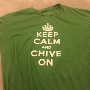 Chive on top